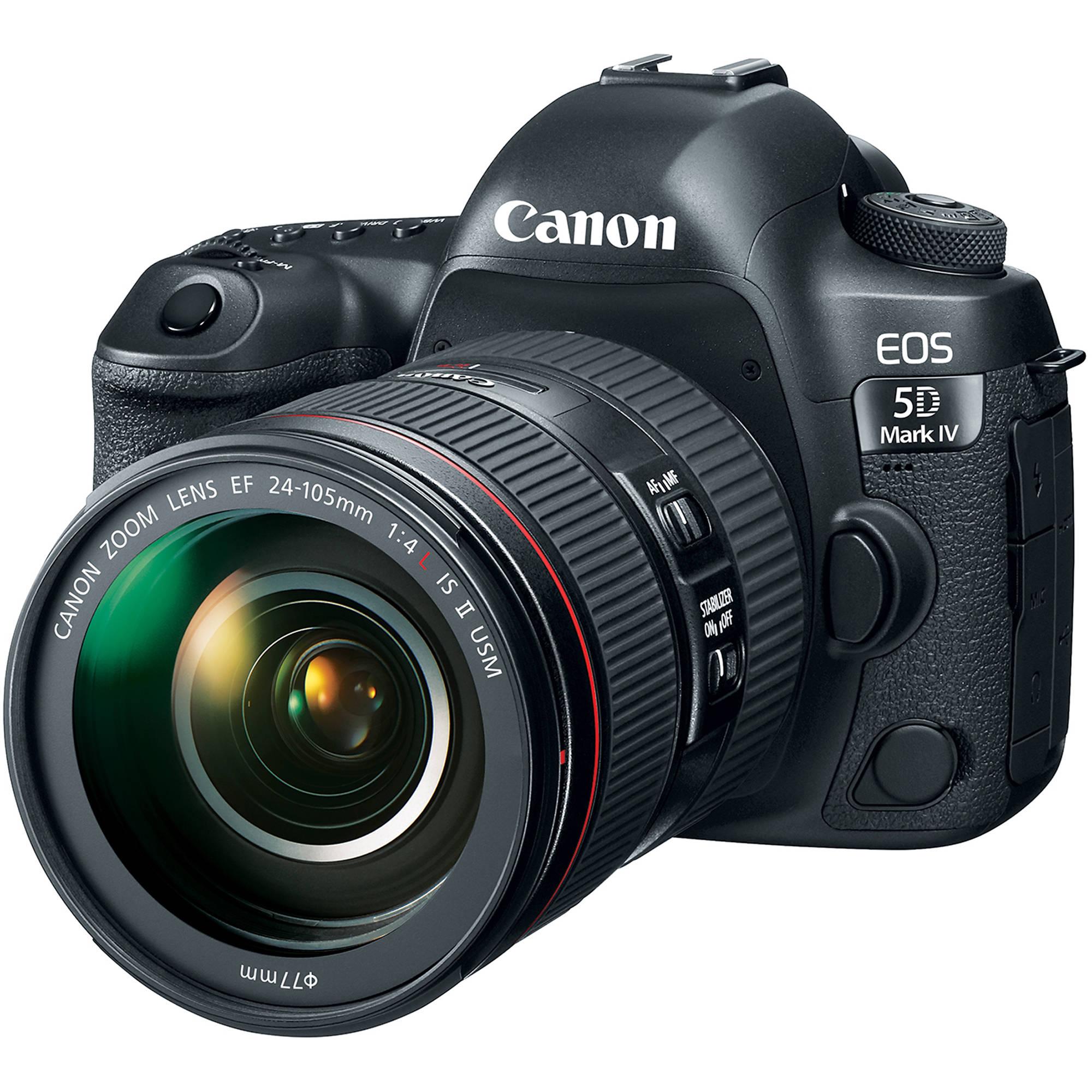 Canon 5D Mark III Digital SLR + Canon EF 24-105/4L IS USM